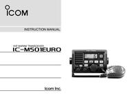 ICOM iM501EURO User Manual