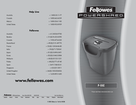 Fellowes Powershred® P-55C 32602-72 Leaflet