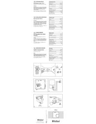 Vaillant VRT 30 Installation Instruction