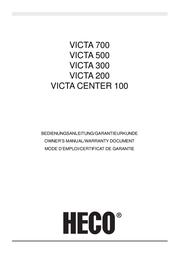 Heco Victa 200, Dark Rosewood VICTA200 Manual