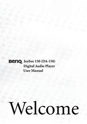 Benq Joybee 150-256MB/Silver 98.K1005.E04 User Manual