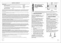 3com 3Com® TP Transceiver Interface Module 3C12063 Leaflet