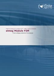 Teldat elmeg Module FSM 1086774 Leaflet