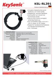 MaxPoint KSL-RL391 Leaflet