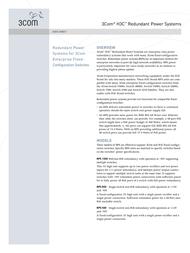 H3C RPS 1000 Redundant Power System 0213A01S Data Sheet
