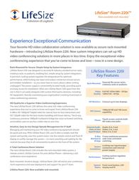 LifeSize ROOM 220i 1000-0000-1156 Leaflet