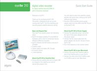 Elgato EyeTv 310 Leaflet
