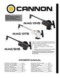 Cannon Mag 10ts User Manual