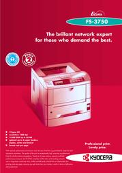 Hasselblad FS-3750 Leaflet