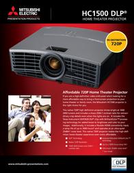 Mitsubishi Electric HC1500 Leaflet