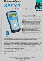 Kurth Electronic KE7100 0.57613 Leaflet