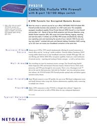 Netgear FVS318 Brochure