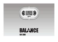 Balance KH 390 User Manual