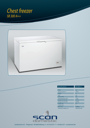 Scancool SB300 A++ Leaflet