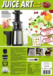 RGV Juice Art 110600 Leaflet