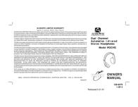 Advent IR2CHS Leaflet
