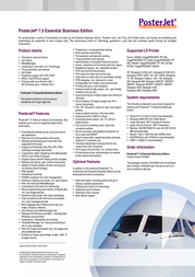 PosterJet 7.5 Small Business Edition PJ77776 NFR Leaflet