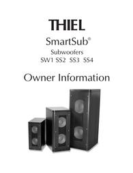 Thiel ss2 用户手册