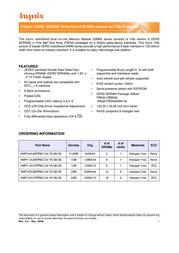 Hynix HMP125U6EFR8C-S6 Leaflet
