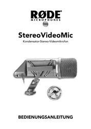 Rode Microphones RODE SMV STEREO VIDEOMIC MIKROFON 400.700.030 User Manual