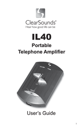 Clearsounds IL40 User Manual
