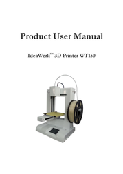 Weistek WT IdeaWerk 3D printer WT150 Data Sheet