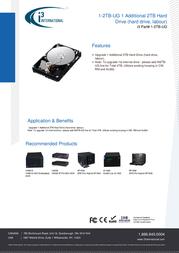 i3 International 1-2TB-UG Data Sheet
