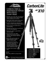 Tiffen CARBONLITEX10 Leaflet