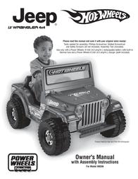 Jeep HOT WHEELS N9356 User Manual