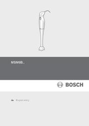 Bosch MSM6B150 Data Sheet