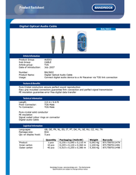 Bandridge BAL5602 Leaflet