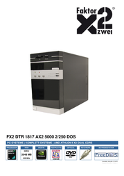Faktor Zwei FX2 dTR 1817 810476 User Manual
