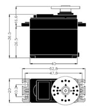 Hitec HS-322HD 112322 Data Sheet