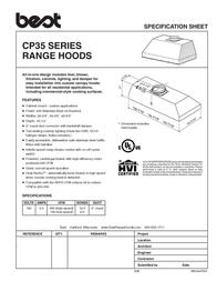 Best CP35 Series Leaflet