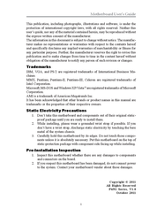 PC CHIPS P65G User Manual