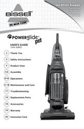 Bissell PowerGlide Pet Vacuum 1044 Owner's Manual