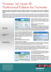 Norman Ad-Aware Spyware 10860 Leaflet