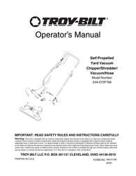 Troy-Bilt 24A-070F766 User Manual