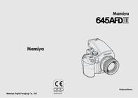 Mamiya 645 AFD III User Manual