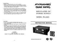 Pyramid Car Audio PS-64KX Leaflet