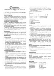 Voltcraft MS-400 Multi-Tester MS-400 Data Sheet
