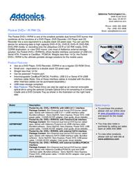 Addonics AEPMRW88U User Manual