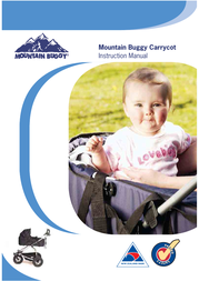 Mountain Buggy Buggy Carrycot User Manual