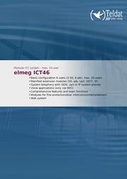 Teldat elmeg ICT46 1091433 User Manual