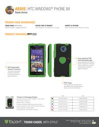 Trident Aegis AG-HTC-8X-PNK Leaflet