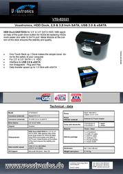 Vosstronics VTG-ED321 VTG-ED321-0 Leaflet