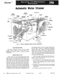 Carrier 29D User Manual
