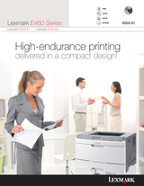 Lexmark E462dtn 34S5108 User Manual