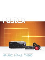 Fostex TH-900 User Manual
