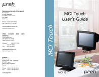 Preh MCI 15 User Manual
